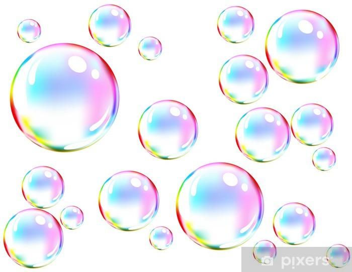 Burbujas en red