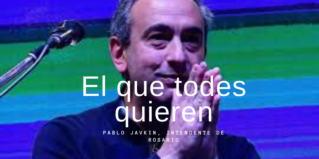 Pablo Javkin, el intendente que le gusta a todes les progresistas